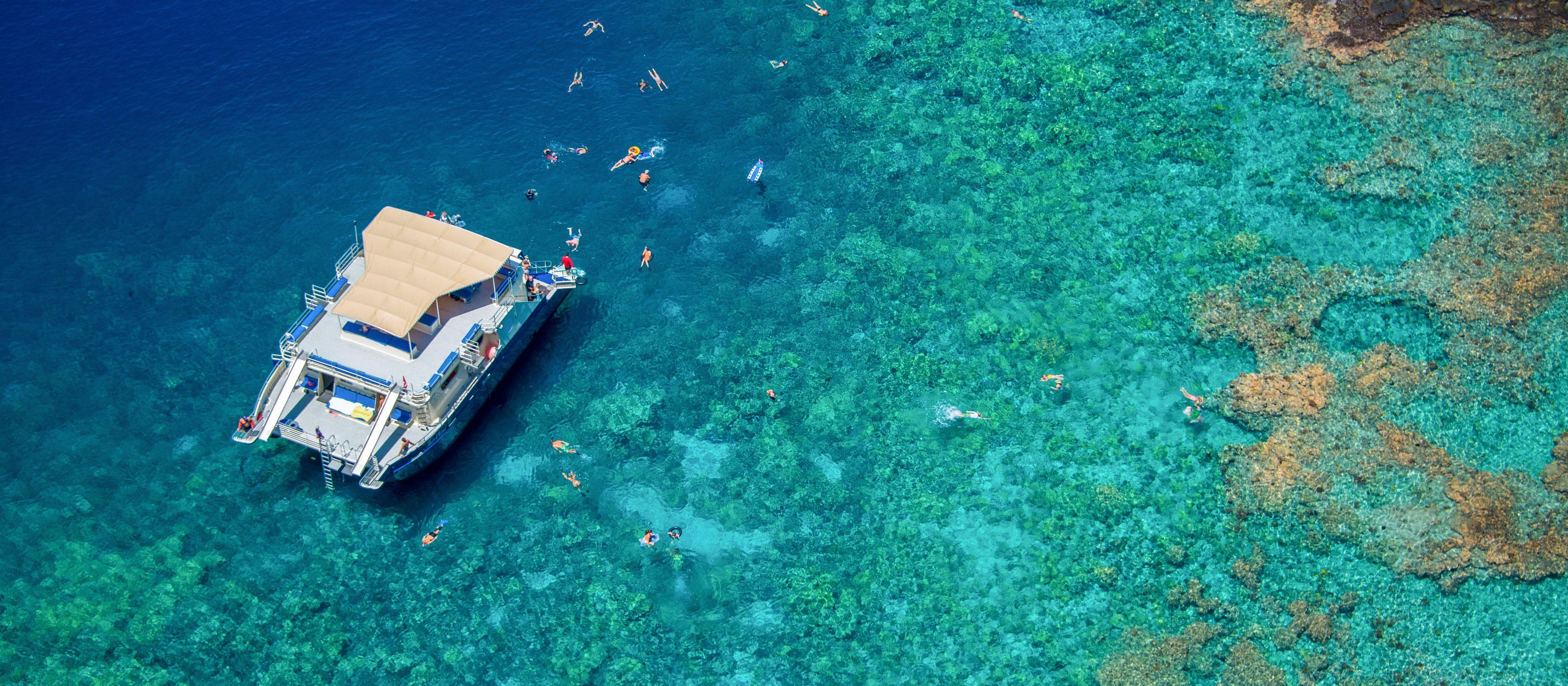 Morning Kealakekua Snorkel & BBQ Cruise mit Fair Wind Cruises auf Hawaii