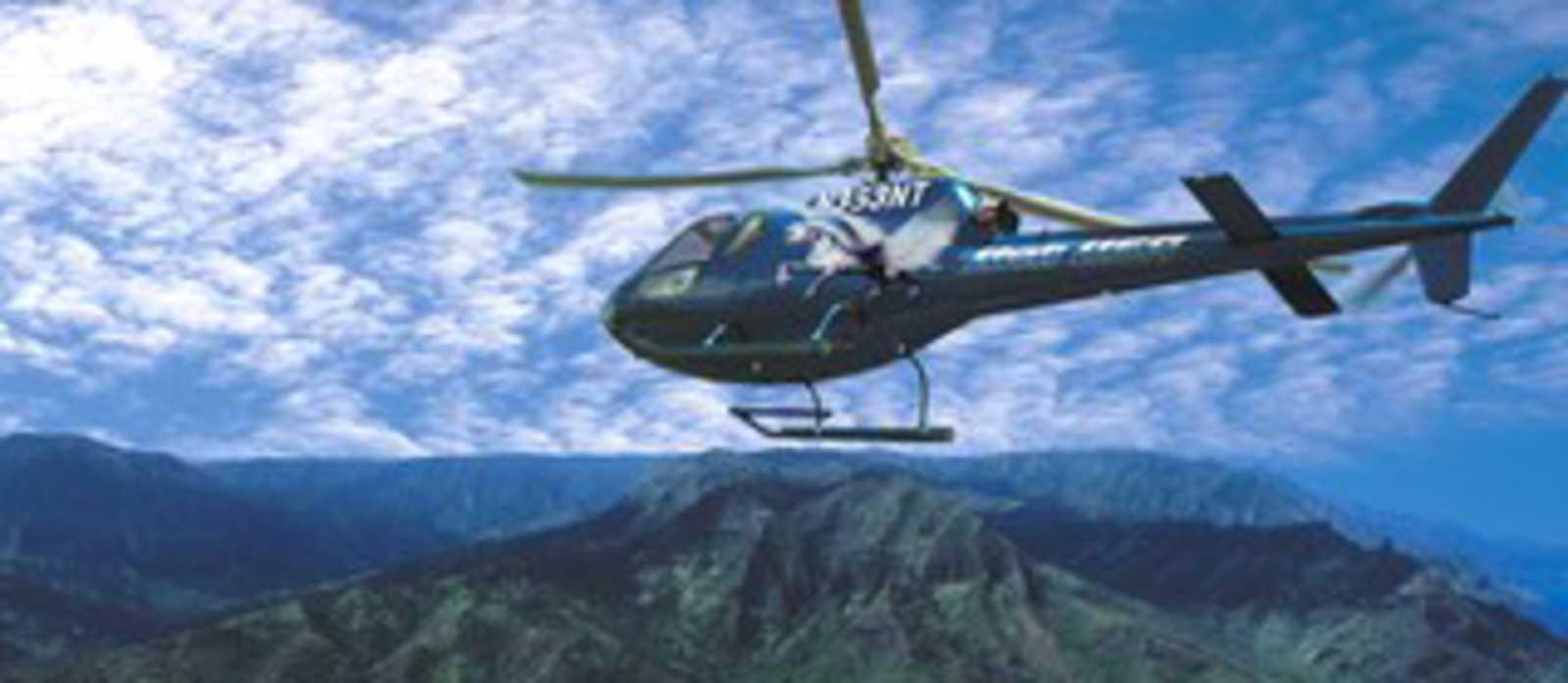 Kauai aus der Luft