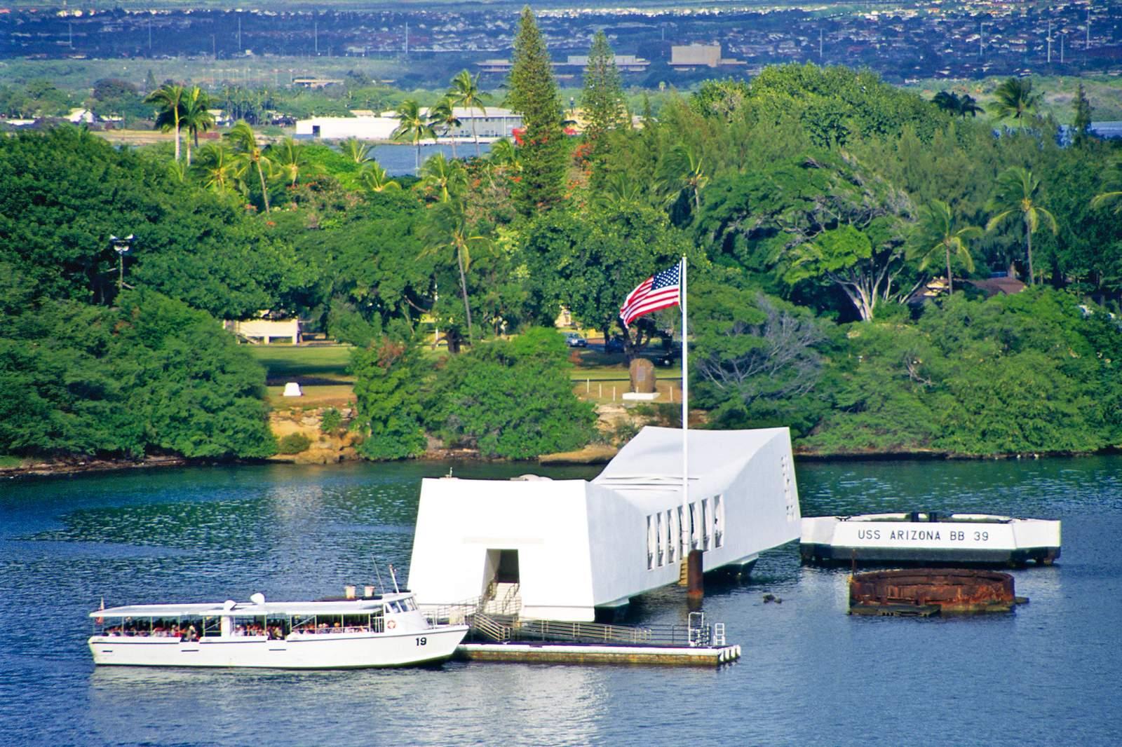 Pearl Harbour auf Oahu
