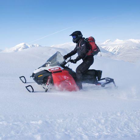 Banff Snowmobile Tour, Alberta
