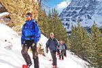 Schneeschuhwanderung zum Marble Canyon