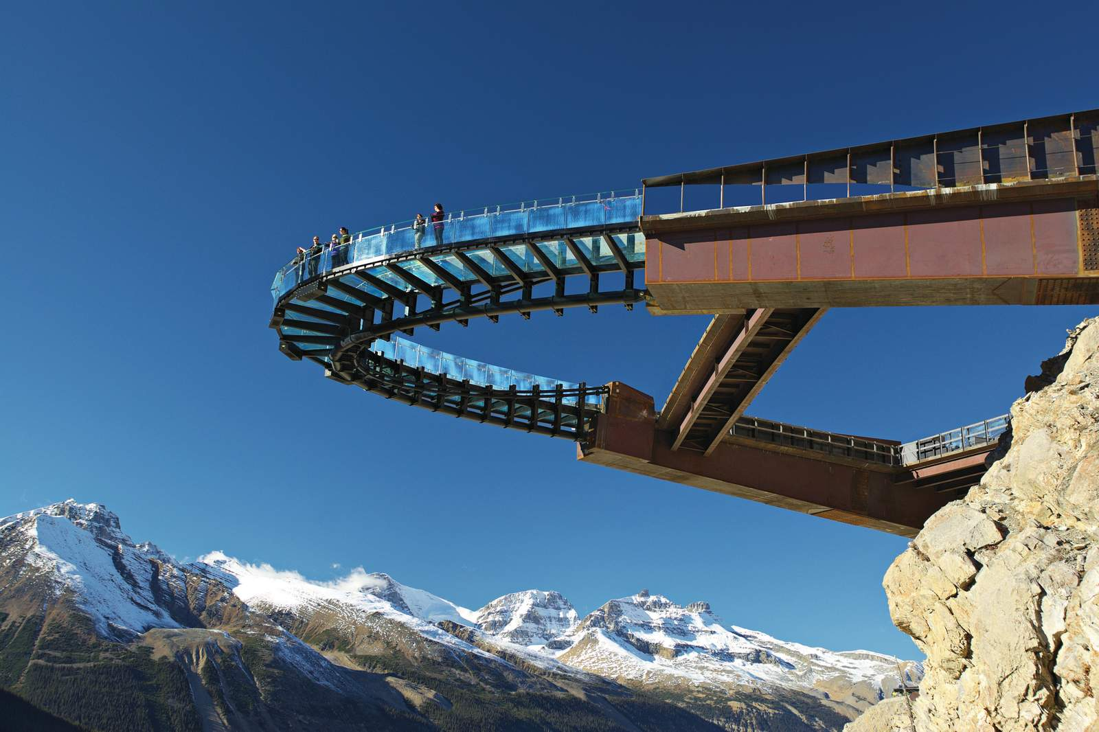 Impressionen Glacier Skywalk