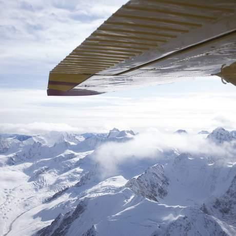 Flug über den Kluane Nationalpark