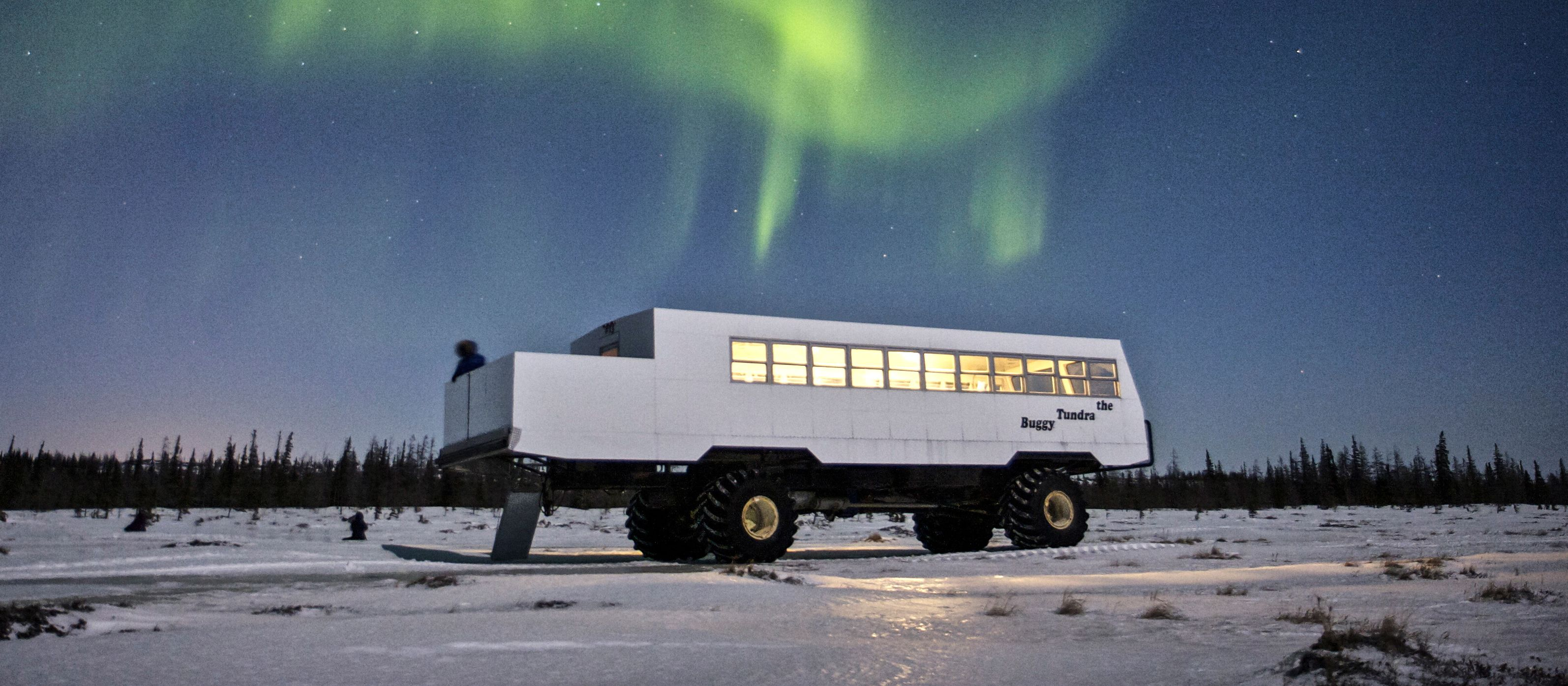 Tundra Buggy Northern Lights Tour von Frontiers North Adventures