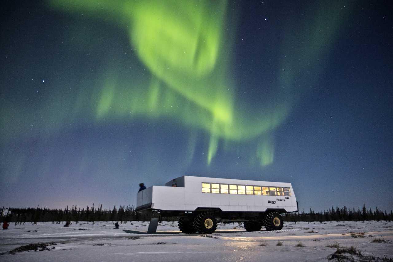 Tundra Buggy Northern Lights Tour von Frontiers North Adventures