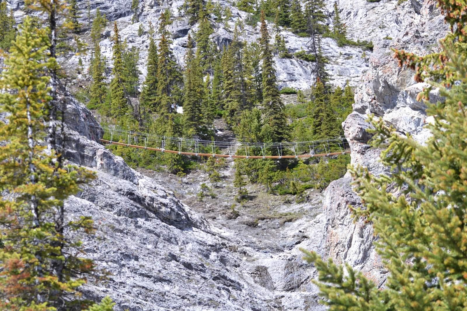 Impressionen Mount Norquay via Ferrata Explorer Route