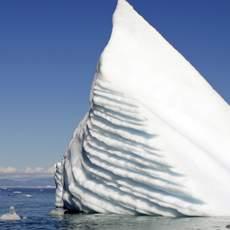 Eisbergspitze