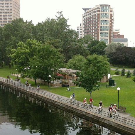 Impressionen Ottawa City Fahrradtour