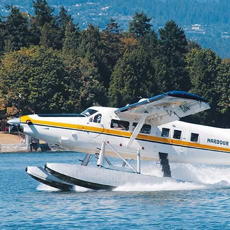 Wasserflugzeug von Harbour Air Seaplanes