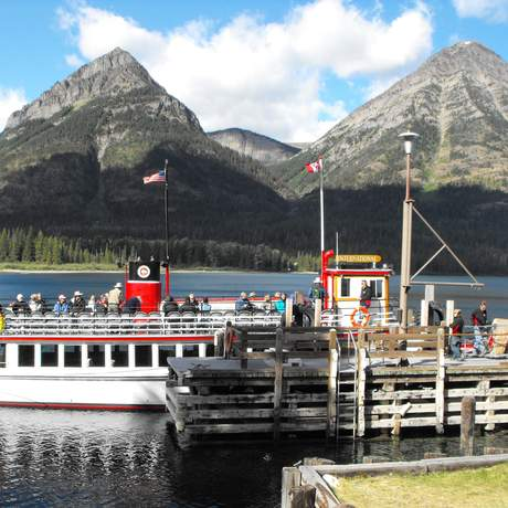 Impressionen Waterton Lake Scenic Cruise