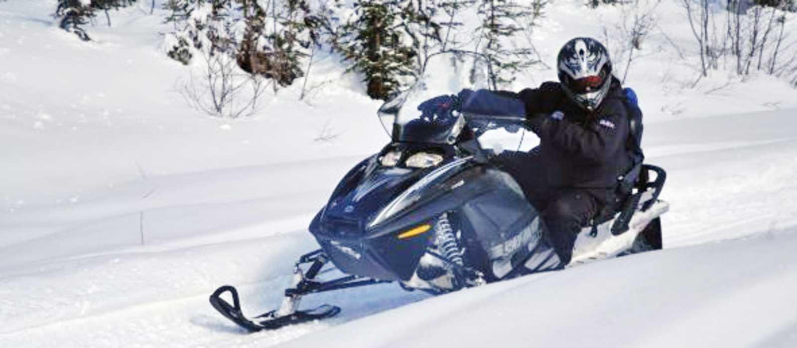 Snowmobiltour in Whistler