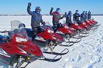 Schneemobilausflug in Yellowknife