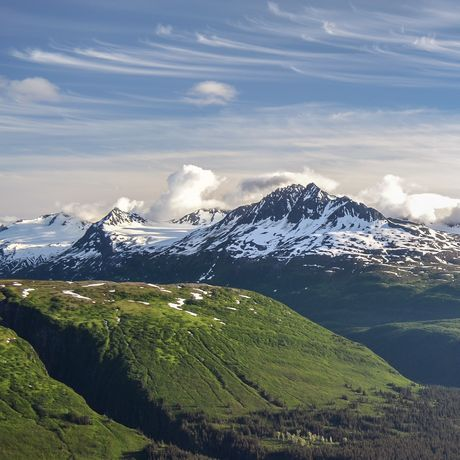 Stan Stephens Cruises Alaska, Thompson Pass Valdez, View
