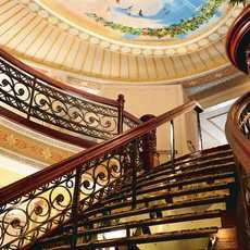 Treppenhaus an Bord der American Queen