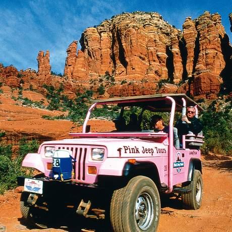 Mit dem Jeep die Broken Arrow Tour erkunden
