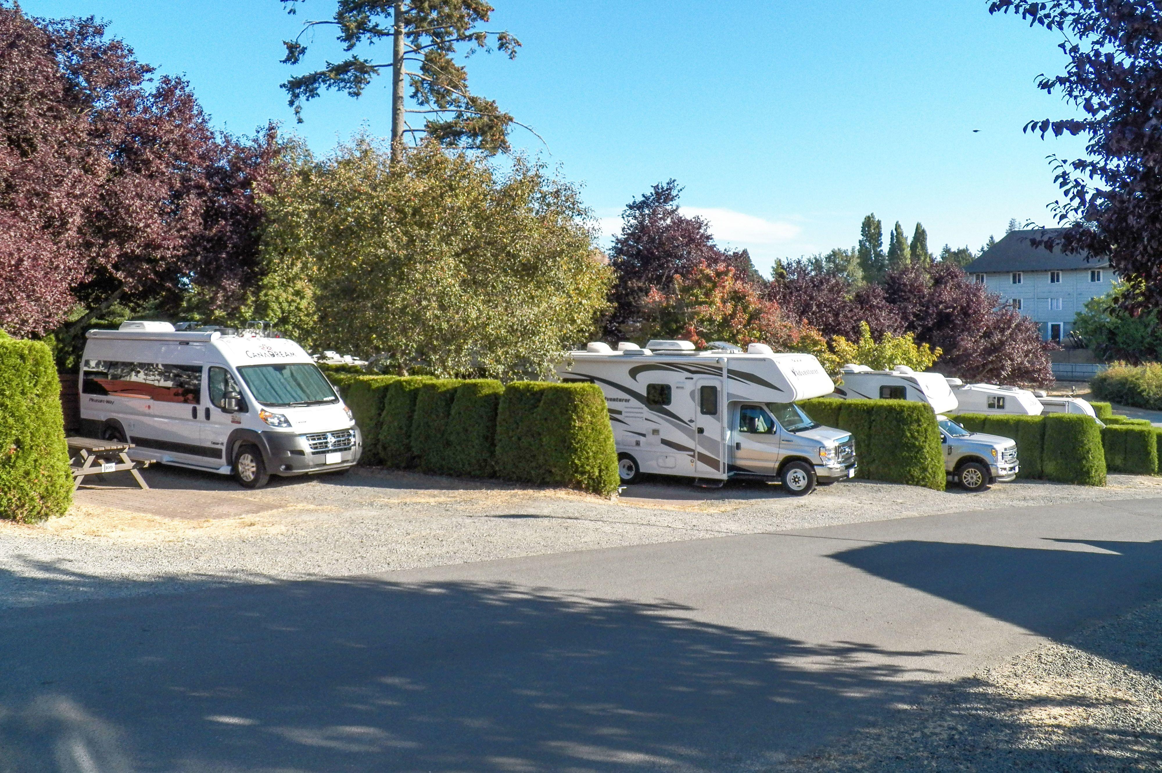 Impressionen des Fort Victoria RV Parks in Victoria