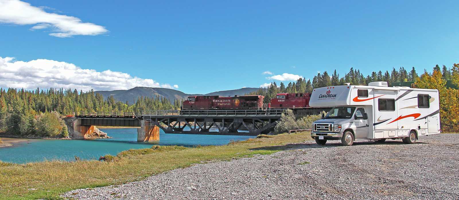 Canadream Wohnwagen im Bow Valley, Alberta