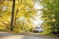 Herbst in West-Kanada