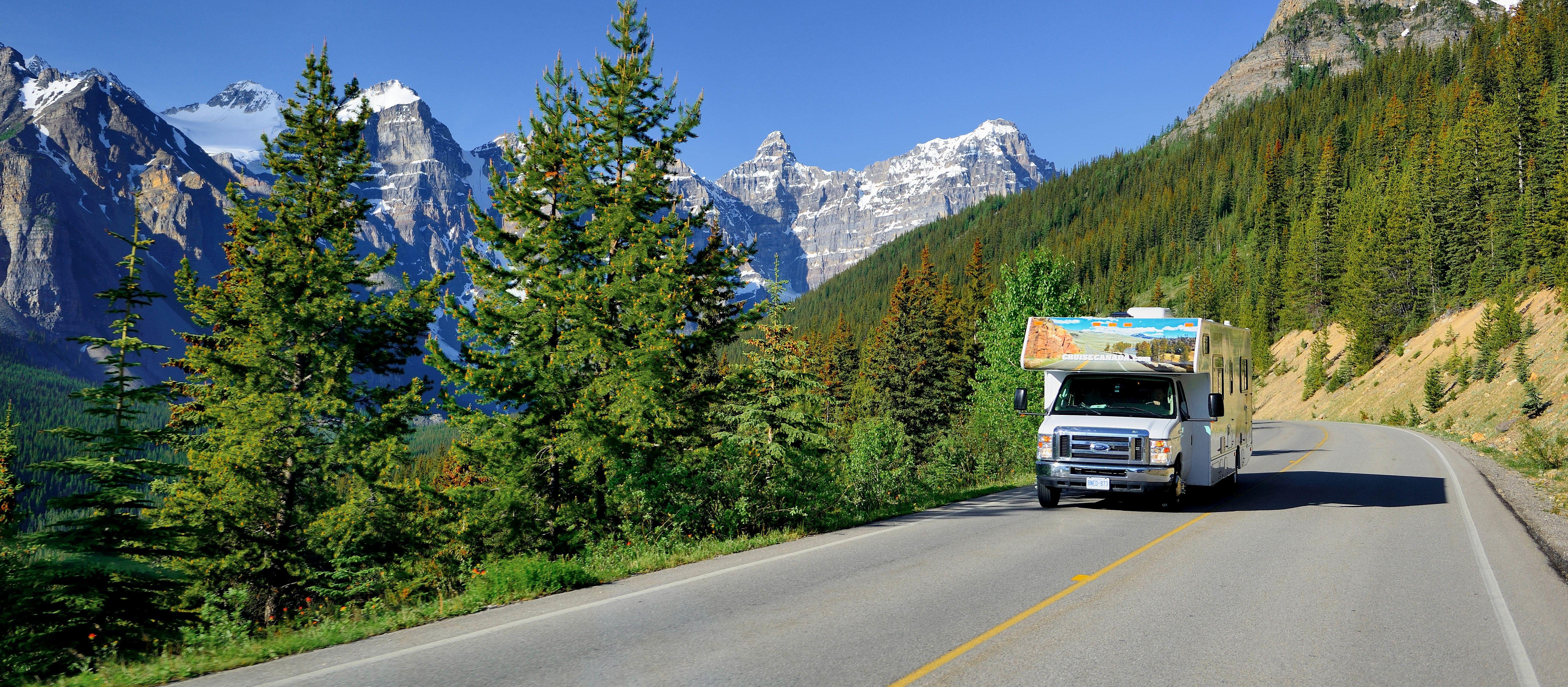 Alberta Wohnmobilreise