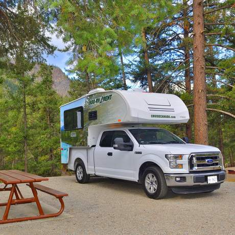 Cruise Canada Truck Camper T17 in British Columbia