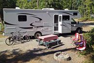Campingplatz in Nordamerika