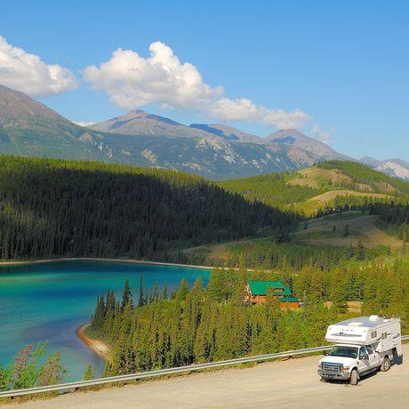 Wohnmobil am Emerald Lake