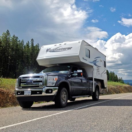 Mit dem Truck Camper unterwegs auf dem Highway III