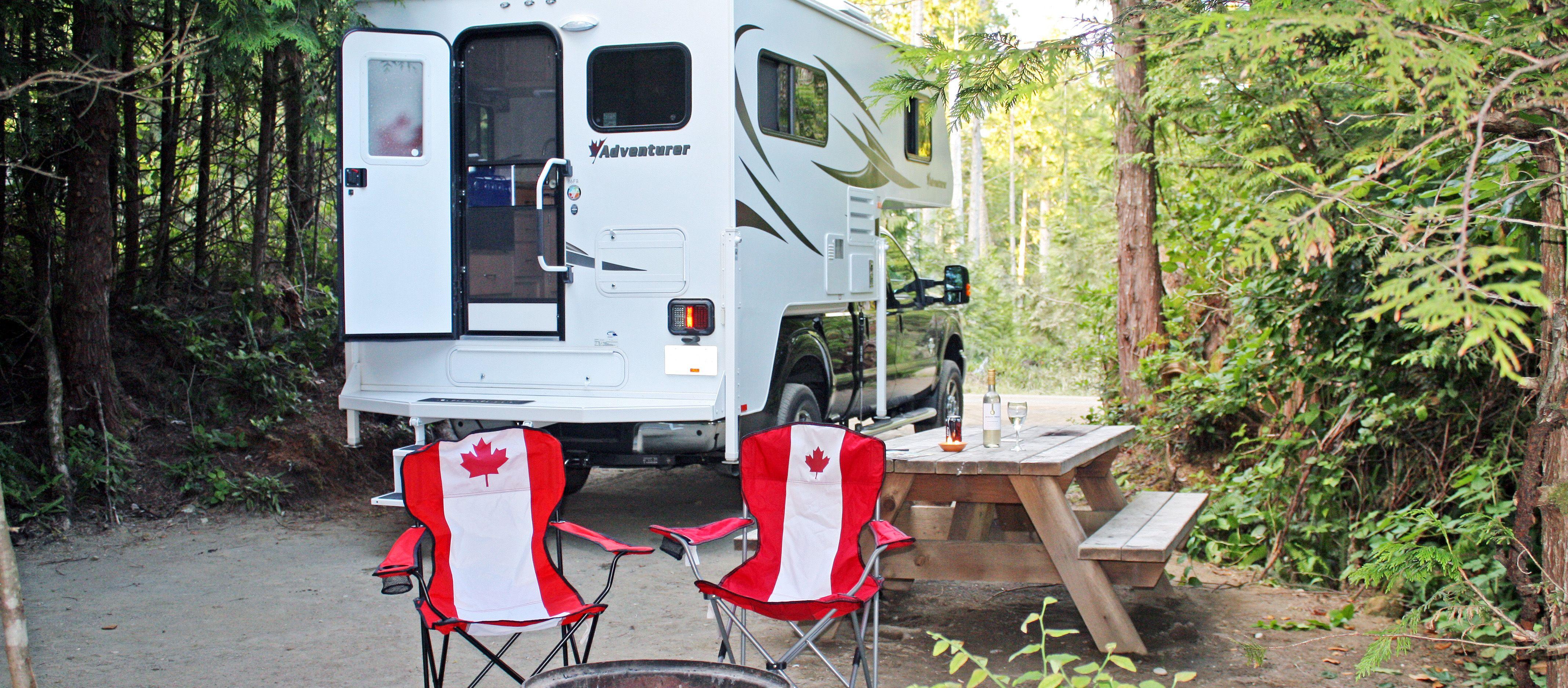 Stellplatz am WYA Campground