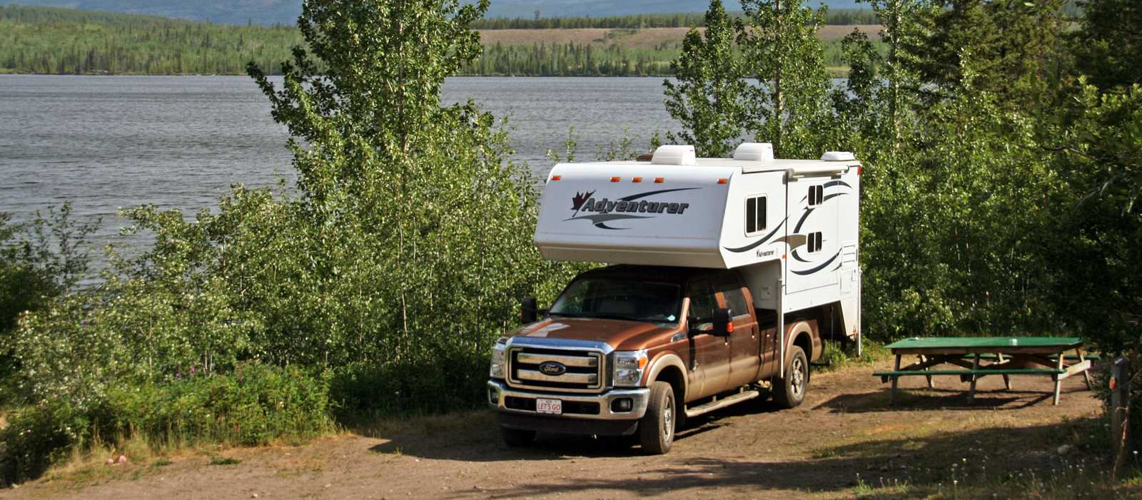 Tarfu Lake Campground/Yukon