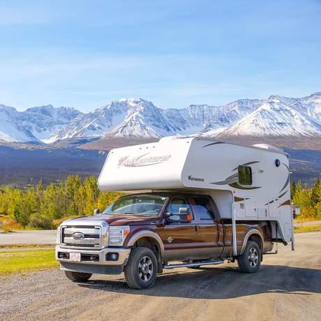 Truck-Camper V1 von Fraserway