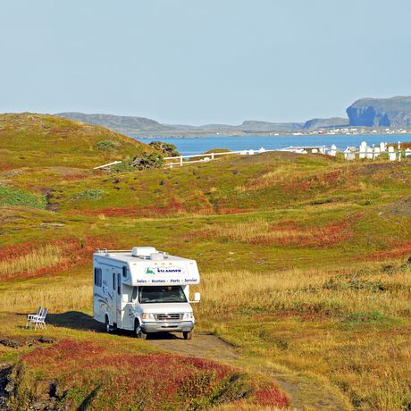 Wohnmobil in Neufundland