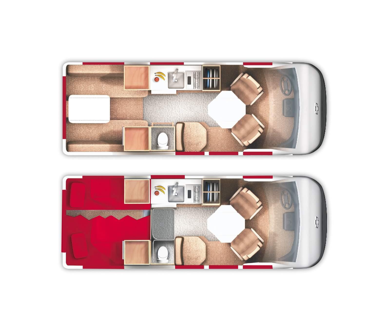 Deluxe Van Conversion 19