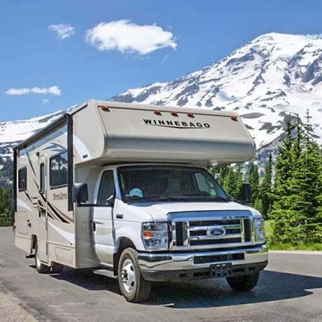 Unterwegs mit dem Wohnmobil im Mount-Rainier-Nationalpark