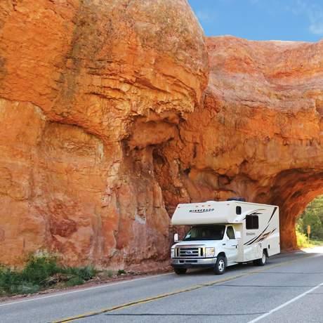 Aussenansicht des Apollo Pioneer im Red Canyon