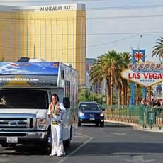 Elvis der Camper in Las Vegas