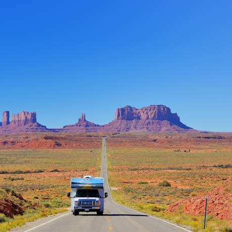 Fahrt durch das Monument Valley