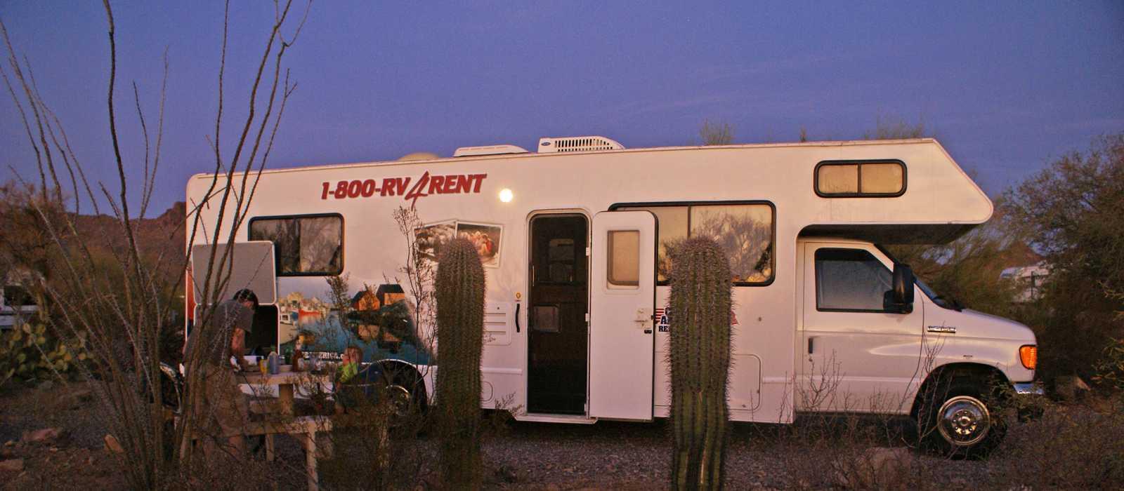 C30 auf dem Campground