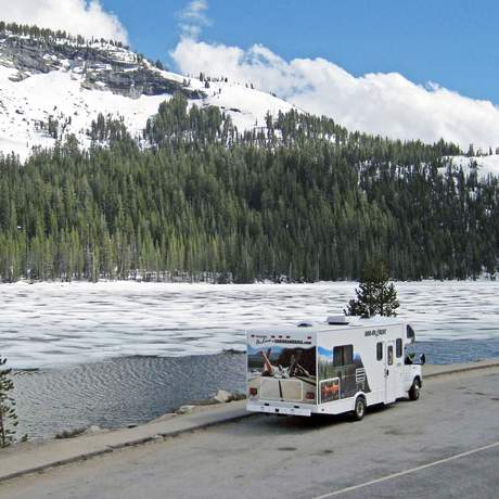 Motorhome E 27 im Yosemite National Park
