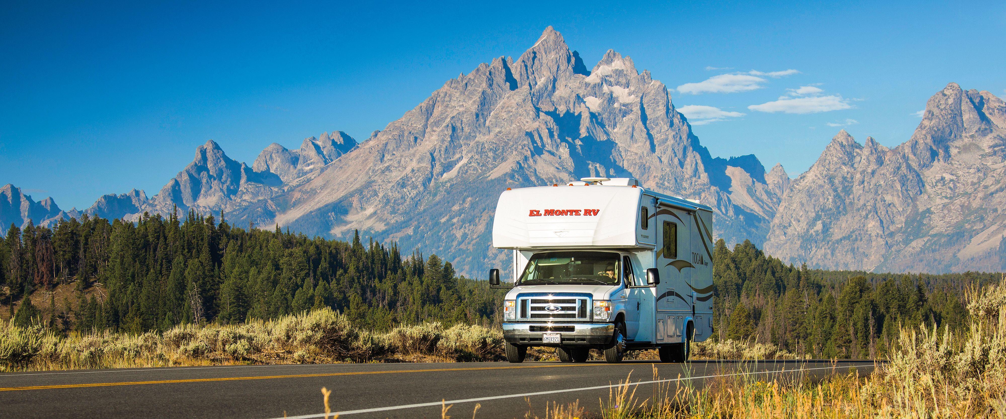 Mit El Monte im Grand Teton National Park