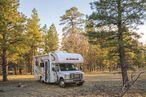 Der Camper C25 von El Monte RV im Yosemite-Nationalpark in Kalifronien