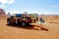 Escape Campervan im Monument Valley