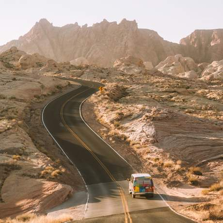 Roadtrip durch den Südwesten der USA mit einem Mavericks Campervan von Escape Campervans
