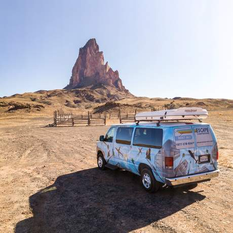 Roadtrip durch Utah mit einem Mavericks Campervan von Escape Campervans