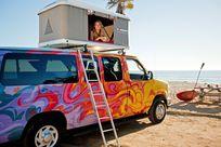 Ein Tag am Meer mit Escape Campervans
