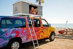 Mavericks Ford E150 mit Dach-Zelt