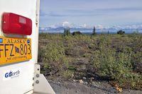 Wunderschöne Wildnis Alaska