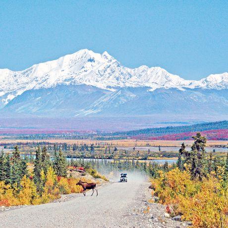 Highway in Alaska