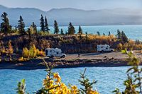 Alaska nach Seattle im Herbst