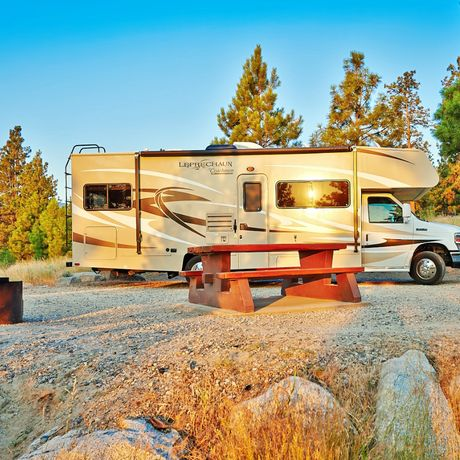 Mit Road Bear RV unterwegs in British Columbia
