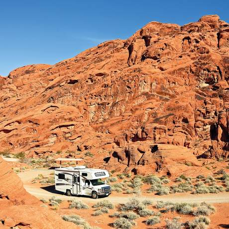 Campground im Valley of Fire